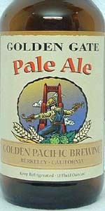 Golden Gate Pale Ale
