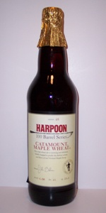 Harpoon 100 Barrel Series #26 - Catamount Maple Wheat