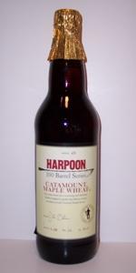 Harpoon 100 Barrel Series #26 - Catamount Maple Wheat