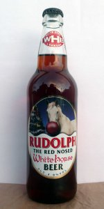 Rudolph (the Red Nosed White Horse)