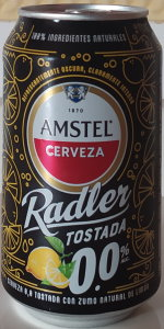 Amstel Radler Tostada 0.0