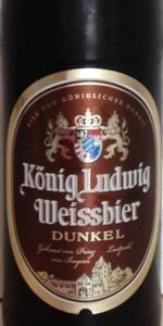 König Ludwig Weissbier Dunkel