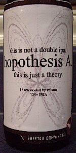 Hopothesis A.