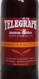 Reserve Wheat Ale