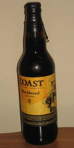 Blackbeerd Imperial Stout (2009) - Jack Daniels Barrel Aged