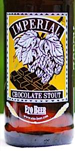 Imperial Chocolate Stout (Ezo Beer)