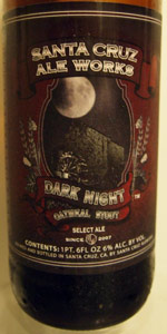 Dark Night Oatmeal Stout