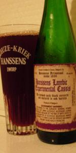 Hanssens Experimental Cassis