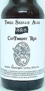 Three Skulls Cutthroat Red