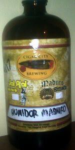 Maduro Oatmeal Brown Ale - Cedar Aged (Humidor Series)