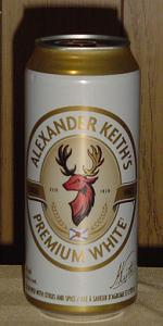 Alexander Keith's Premium White