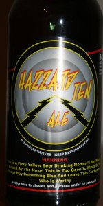 Hazard Ten Ale