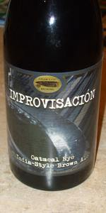 Improv (Improvisación) Oatmeal Rye India-Style Brown Ale