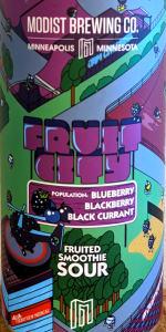 Fruit City: Blueberry, Blackberry, Black Currant