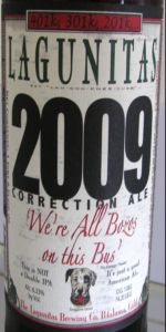 2009 Correction Ale