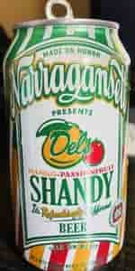 Del's Mango-Passionfruit Shandy