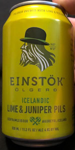 Icelandic Lime & Juniper Pils