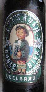 Allgäuer Büble Bier Edelbräu