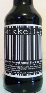 Sherry Barrel Aged Black As Hell