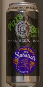 Pizza Party With Sabatini's: Stone Fruit IPA