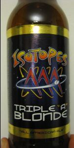 Isotopes AAA Blonde