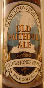 Old Faithful Ale