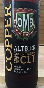 Copper Amber Ale
