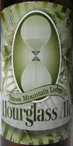 Stowe Mountain Lodge Hourglass Ale