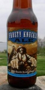 Frosty Knuckle Ale