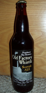 Old Factory Whistle Scottish Ale