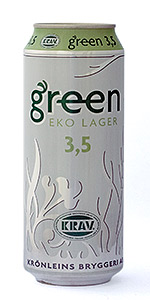 Three Hearts Green EKO Lager 3,5%