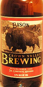 Big Bison Ale