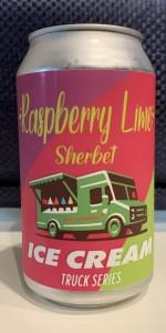Raspberry Lime Sherbet