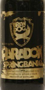 BrewDog Paradox Springbank (Batch 017)