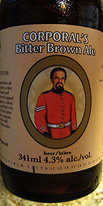 Corporal's Bitter Brown Ale