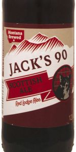 Jack's 90 Scottish Ale