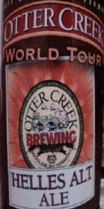 Otter Creek World Tour: Helles Alt Ale