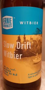 Slow Drift Witbier