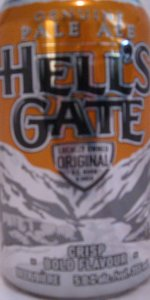 Hell's Gate Genuine Pale Ale