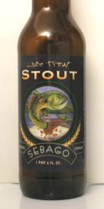 Lake Trout Stout