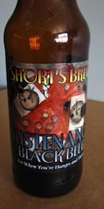 Short's Sustenance Black Bier