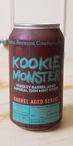 Kookie Monster - Whiskey Barrel-Aged Imperial Thin Mint Stout