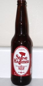 Stone Hammer Maple Red Ale