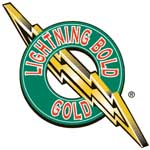 Lighting Bolt Gold