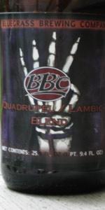 Quadrupel / Lambic Blend