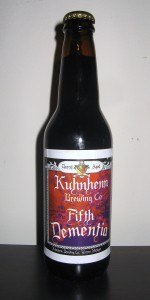 Kuhnhenn Barrel Aged Fifth Dementia