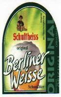 Schultheiss Berliner Weisse