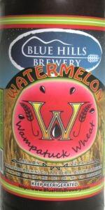 Watermelon Wampatuck Wheat