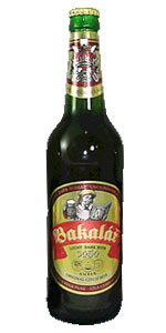 Bakalá&#345&#59; Polotmavé Vý&#269&#59;epní 11° (Bakalar Light Dark Beer)