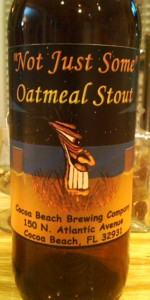 Not Just Some Oatmeal Stout
